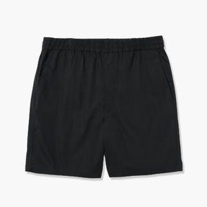 Everlane Black Air Chino Drawstring Shorts M